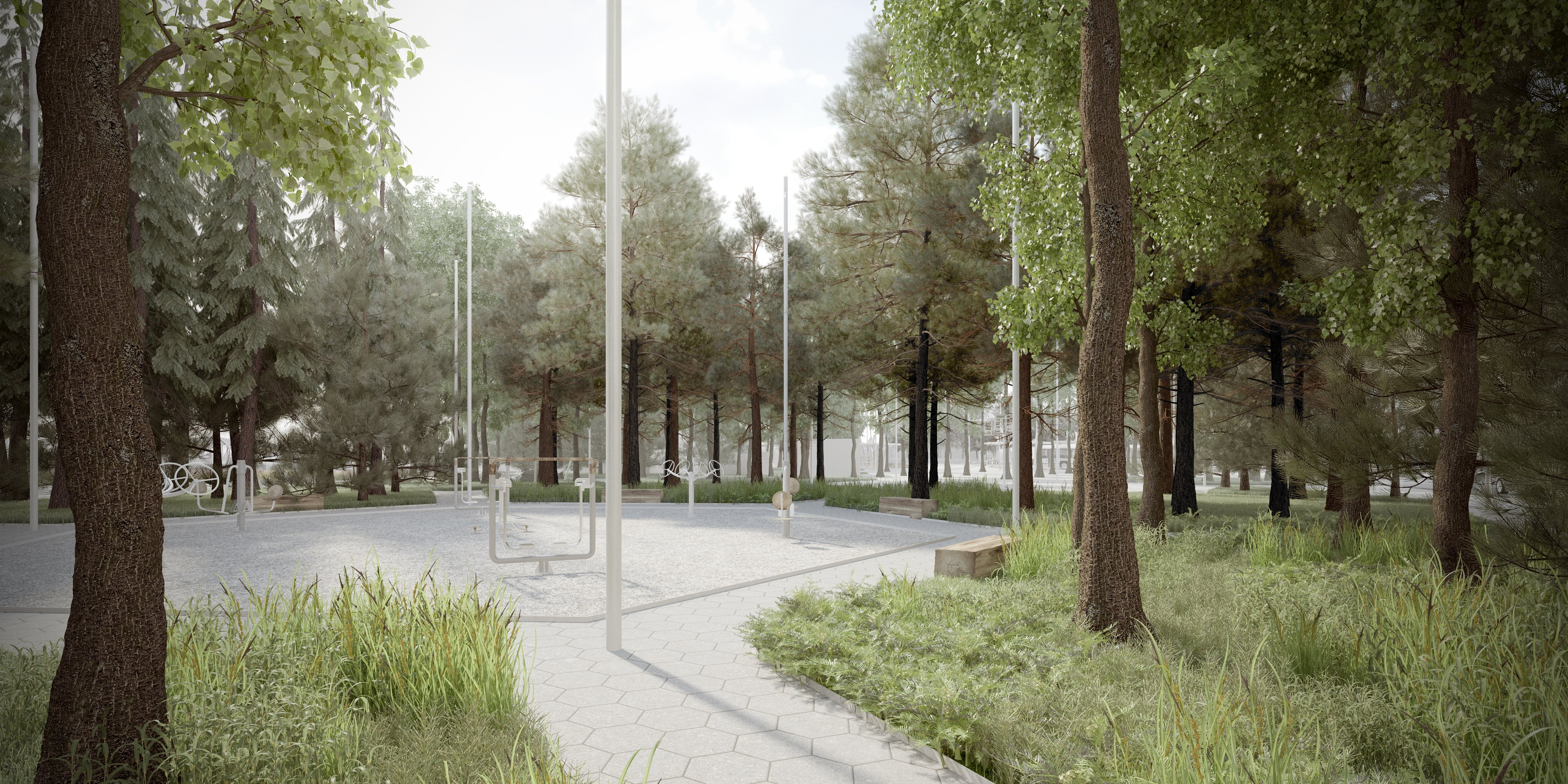 przestrzeń publiczna - wrocław ul. zawalna