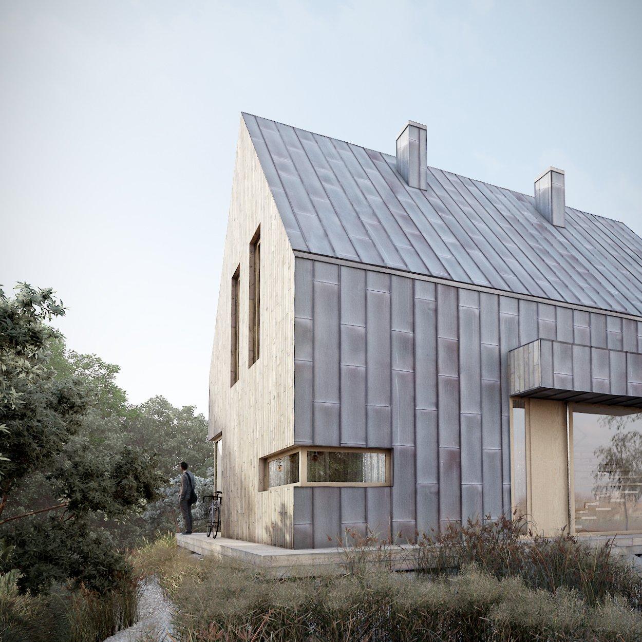 dom jednorodzinny - adaptacja projektu typowego